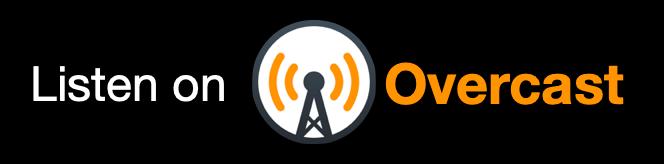Listen on Overcast button